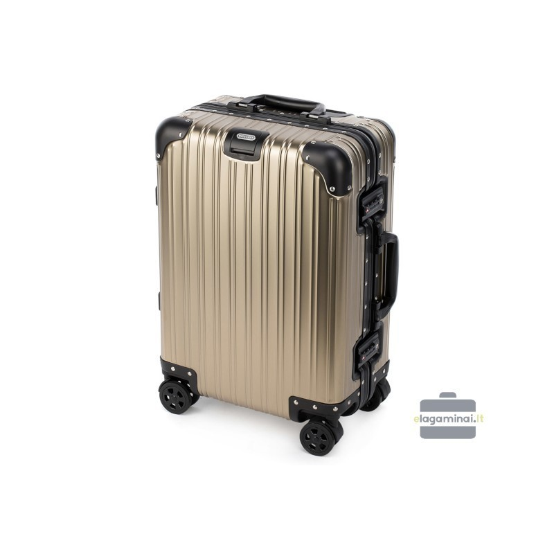 Rokas bagāža koferis Wittchen 56-3H-101-M gaiši dzeltens