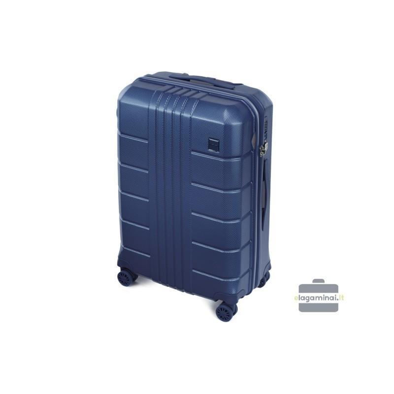 Vidējais koferis Wittchen 56-3P-822 tumši zils