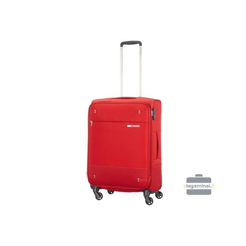 Vidējais koferis Samsonite Base Boost V sarkans