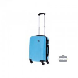 Rokas bagāža koferis Bagia 8080-M Gaiši zils