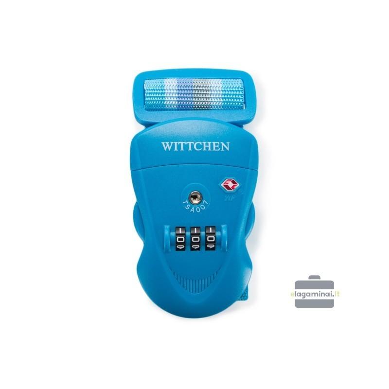 Čemodāna siksna Wittchen 56-30-013 zils