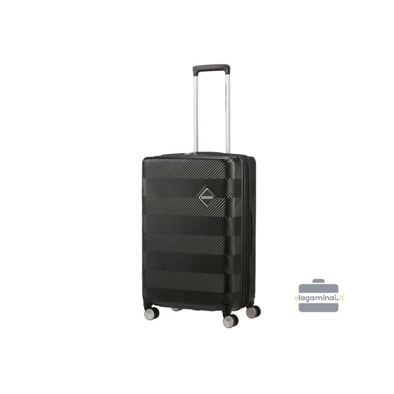 Vidējais koferis American Tourister Flylife V melns