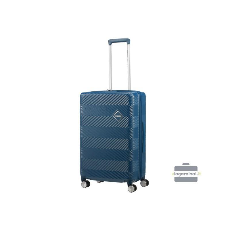 Vidējais koferis American Tourister Flylife V zils