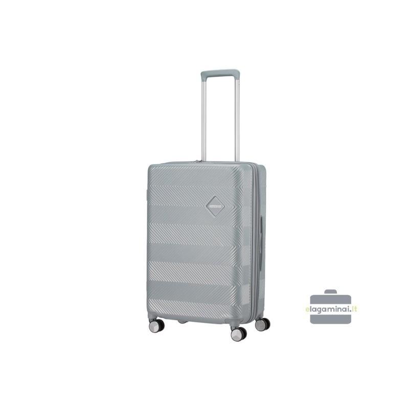 Vidējais koferis American Tourister Flylife V silver