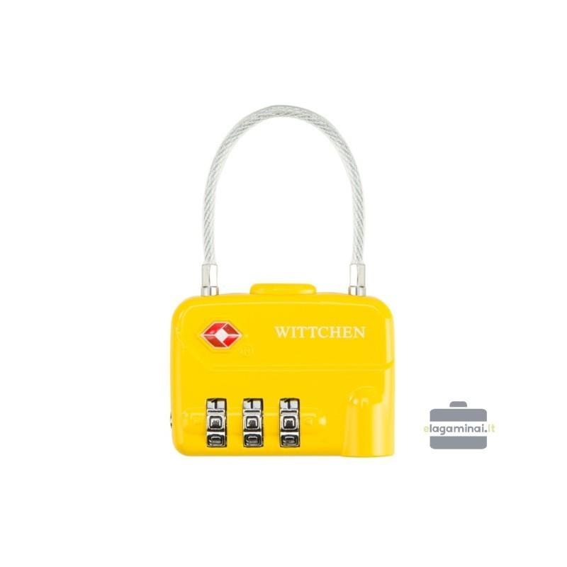 TSA čemodāna atslēgas Wittchen 56-30-024 dzeltens