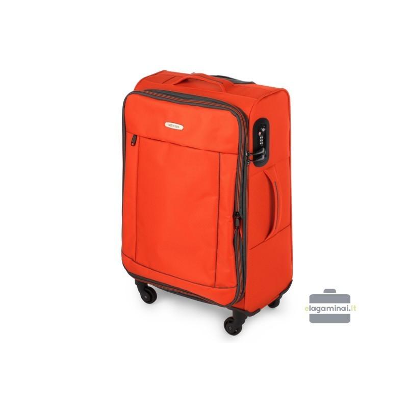 Vidējais koferis Wittchen 56-3S-462 Orange