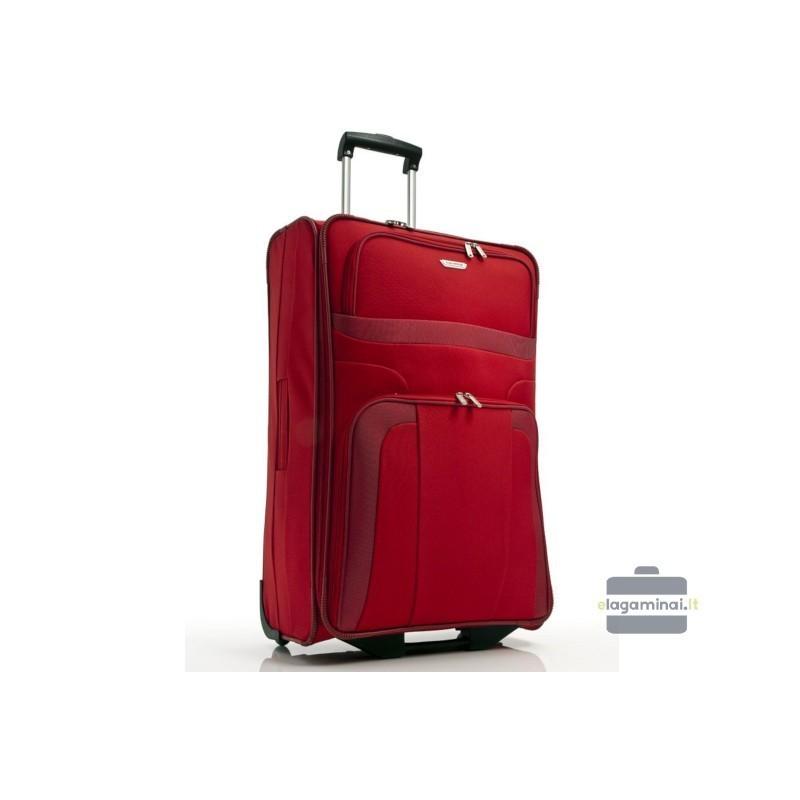 Liels koferis Travelite Orlando D sarkans