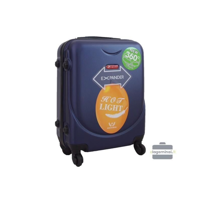 Rokas bagāža koferis Gravitt 310A-M tumši zils
