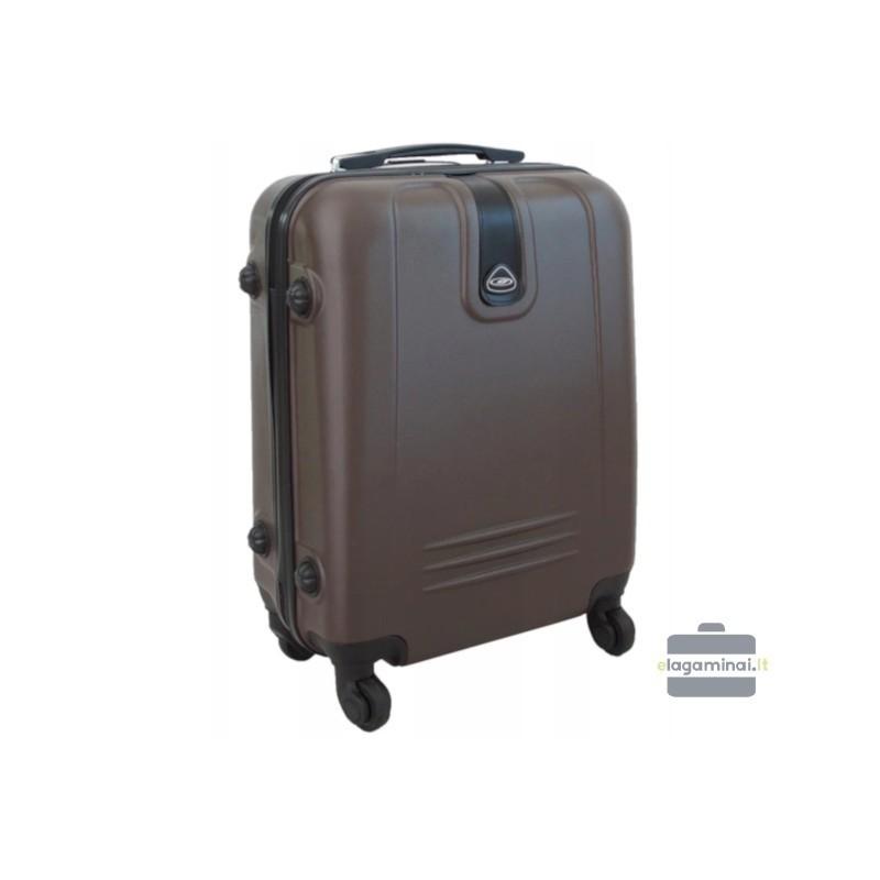 Rokas bagāža koferis Gravitt 168A-M brūns
