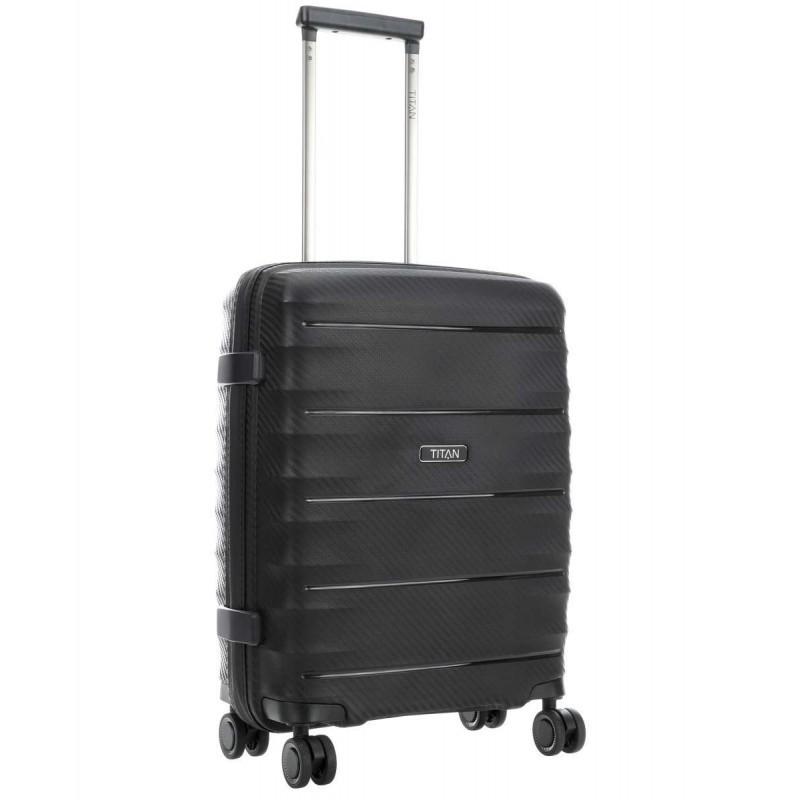 Rokas bagāža koferis Titan Highlight-M melns