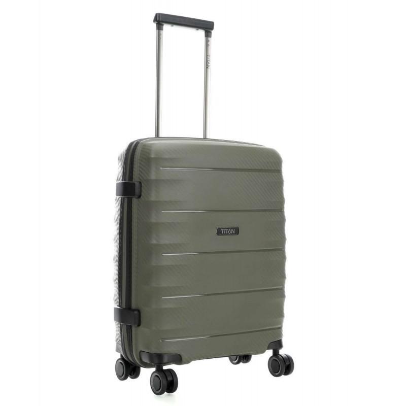 Rokas bagāža koferis Titan Highlight-M Chaki