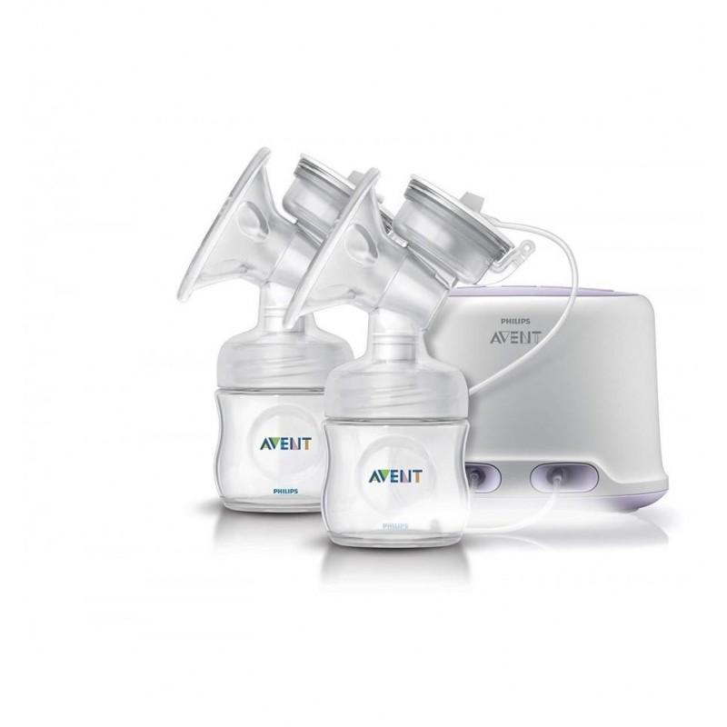 PHILIPS AVENT Dubultais elektriskais krūts piena sūknis SCF334