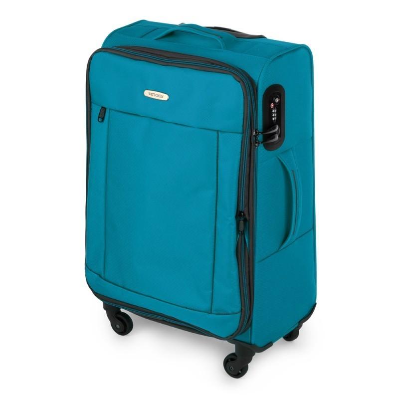 Vidējais koferis Wittchen 56-3S-462 gaiši zils