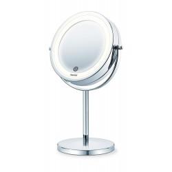 Divpusējs kosmētikas spogulis Beurer BS55 ar apgaismojumu un statīvu (BS 55)