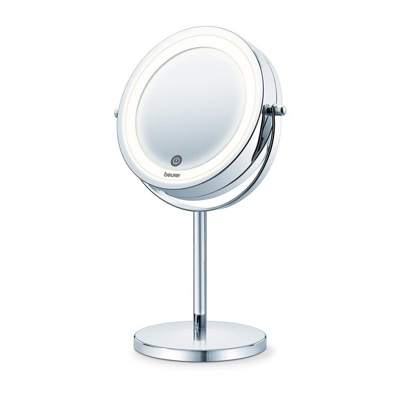 Divpusējs kosmētikas spogulis Beurer BS55 ar apgaismojumu un statīvu