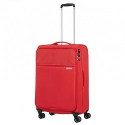 Vidējais koferis American Tourister Lite Ray V sarkans