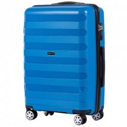 Vidējais koferis Wings PP07-V zils
