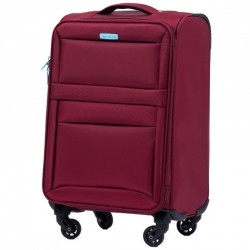 Rokas bagāža koferis Wings 2861-M tumši sarkans