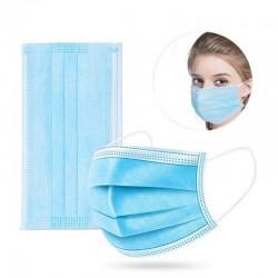 50 gb medicīniskā sejas maska ar gumijām, medicīnas