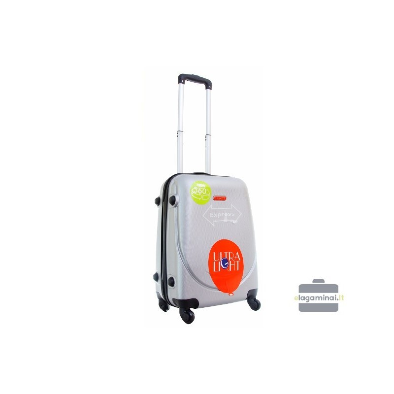 Mazais koferis Gravitt 310-M sudraba krāsa