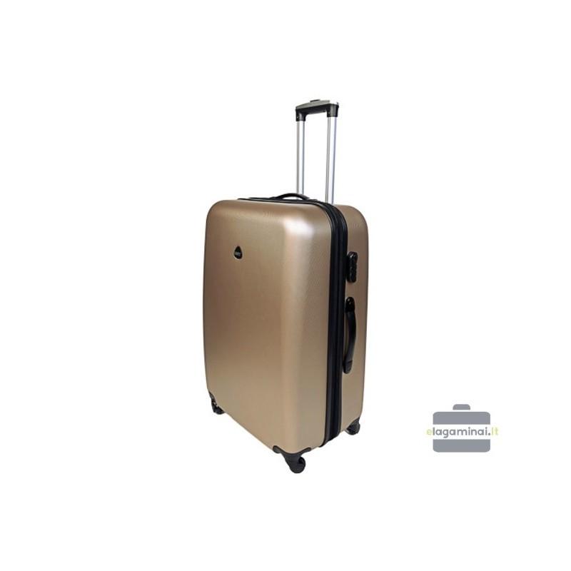 Vidējais koferis Gravitt 866-2Z-V Champagne
