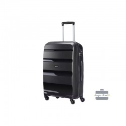 Vidējais koferis American Tourister Bon Air V Melna