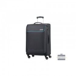 Vidējais koferis American Tourister Funshine V Melna