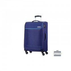 Vidējais koferis American Tourister Funshine V zila