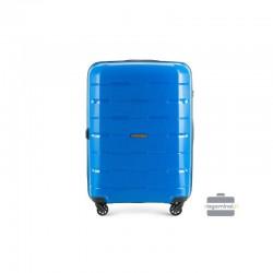 Vidējais koferis Wittchen 56-3T-722 zila