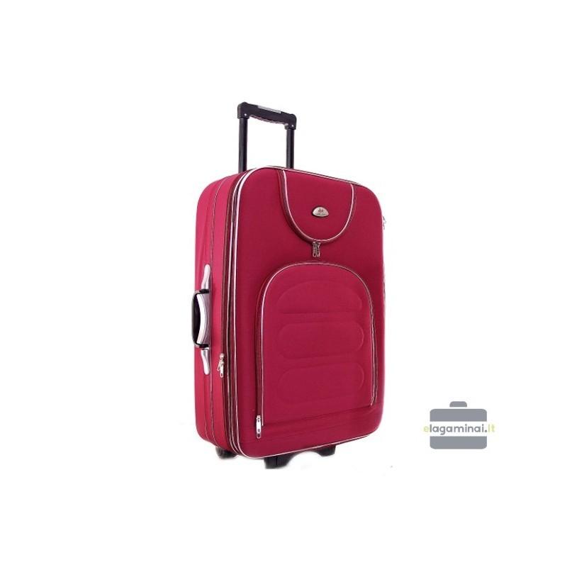 Liels koferis Deli 801-D tumši sarkana