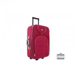 Vidējais koferis Deli 801-V tumši sarkana
