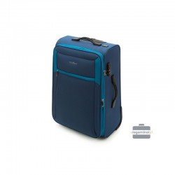 Vidējais koferis Vip Travel V25-3S-232 zila