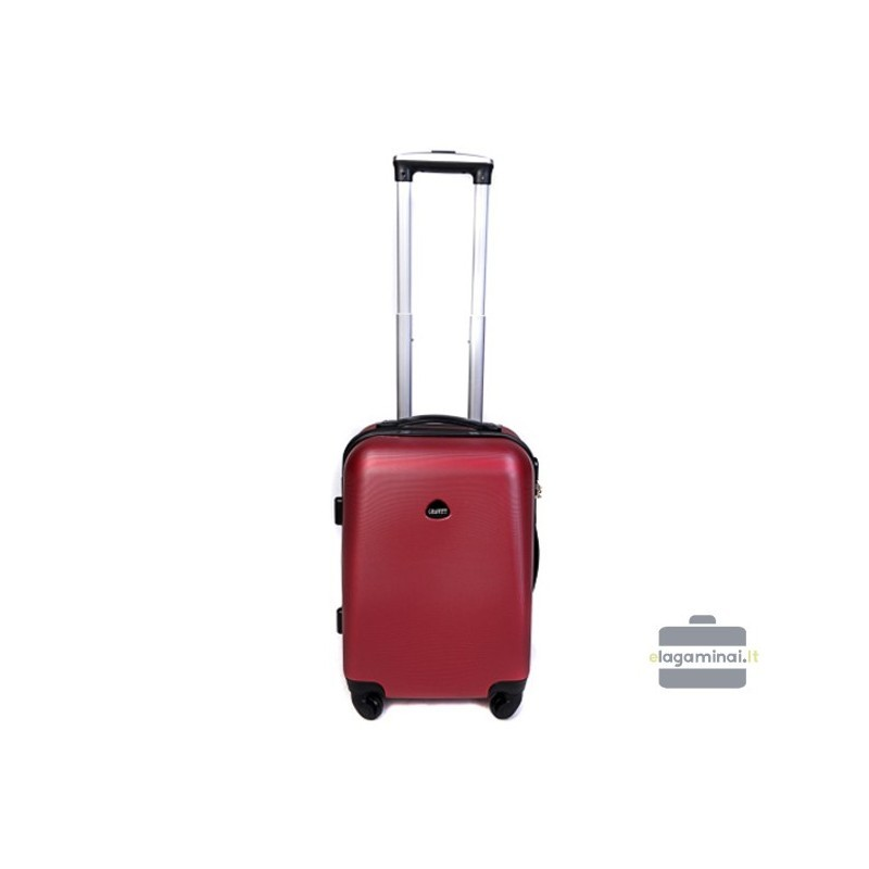 Mazais koferis Gravitt 866-M tumši sarkana