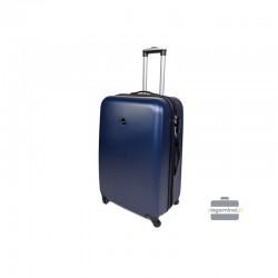 Vidējais koferis Gravitt 866-2Z-V zila