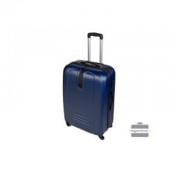 Vidējais koferis Szyk 168-V tumši zila