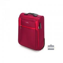 Mazais koferis Vip Travel V25-3S-231 sarkana