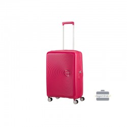 Vidējais koferis American Tourister Soundbox V red