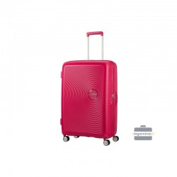 Liels koferis American Tourister Soundbox D red