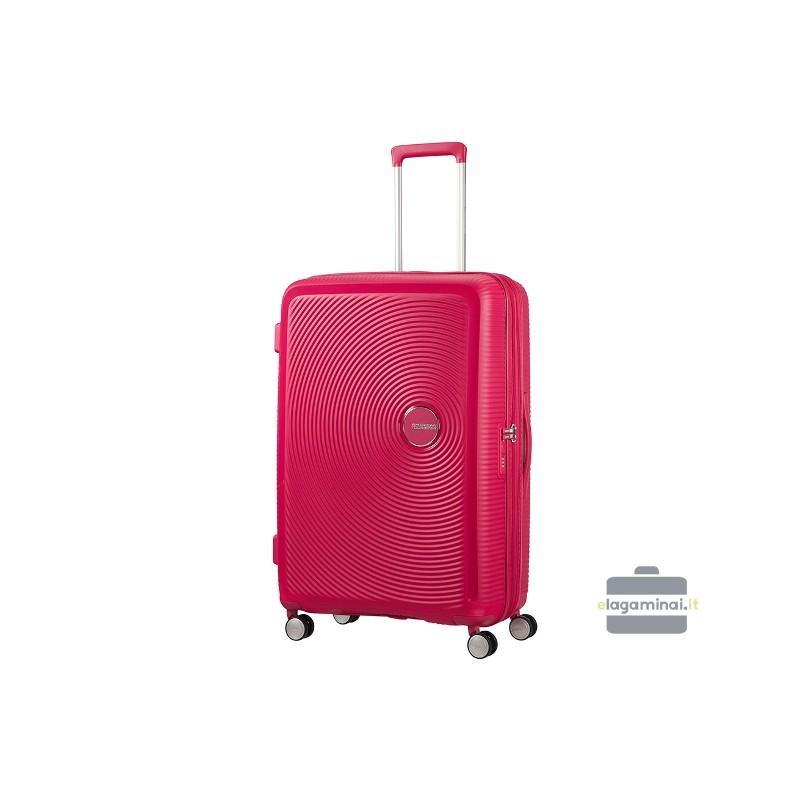 Liels koferis American Tourister Soundbox D red