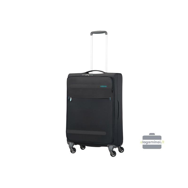 Vidējais koferis American Tourister Herolite V black