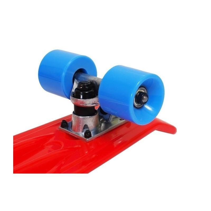Sarkans cruizer pennyboard tipa skrituļdēlis 22