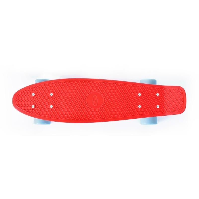 Garšīgas aveņu krāsas pennyboard skrituļdēlis RASPBERRY 22