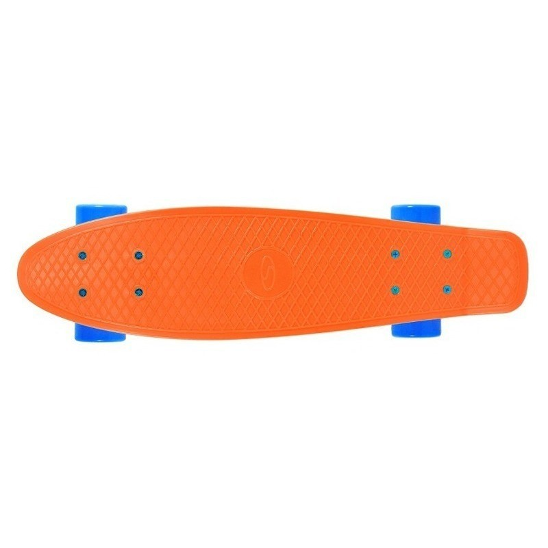 Burkānu/apelsīnu krāsas pennyboard skrituļdēlis Carrot