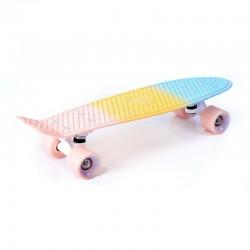3 krāsu standarta skrituļdēlis Rainbow 22