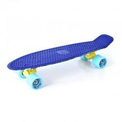 Penny board tipa skrituļdēļi ar karbona gultņiem Stripes 22