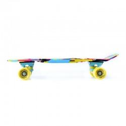 Penny board skrituļdēlis ar krāsainu attēlu POP 22