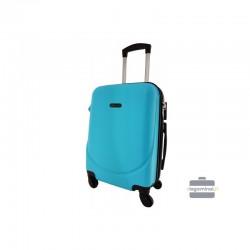 Rokas bagāža koferis Bagia 8091-M gaiši zils