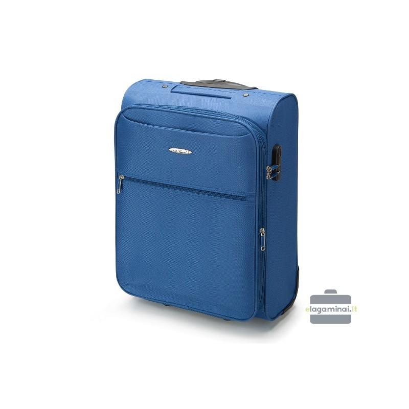 Rokas bagāža koferis VIP Travel V25-3S-241-M zils