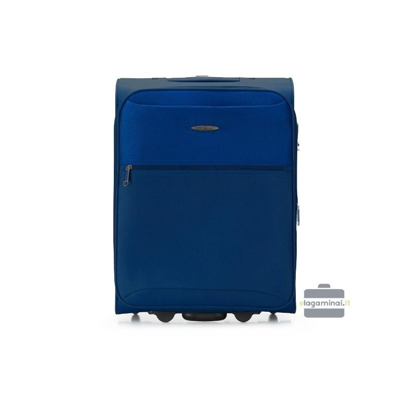 Rokas bagāža koferis VIP Travel V25-3S-241-M tumši zils