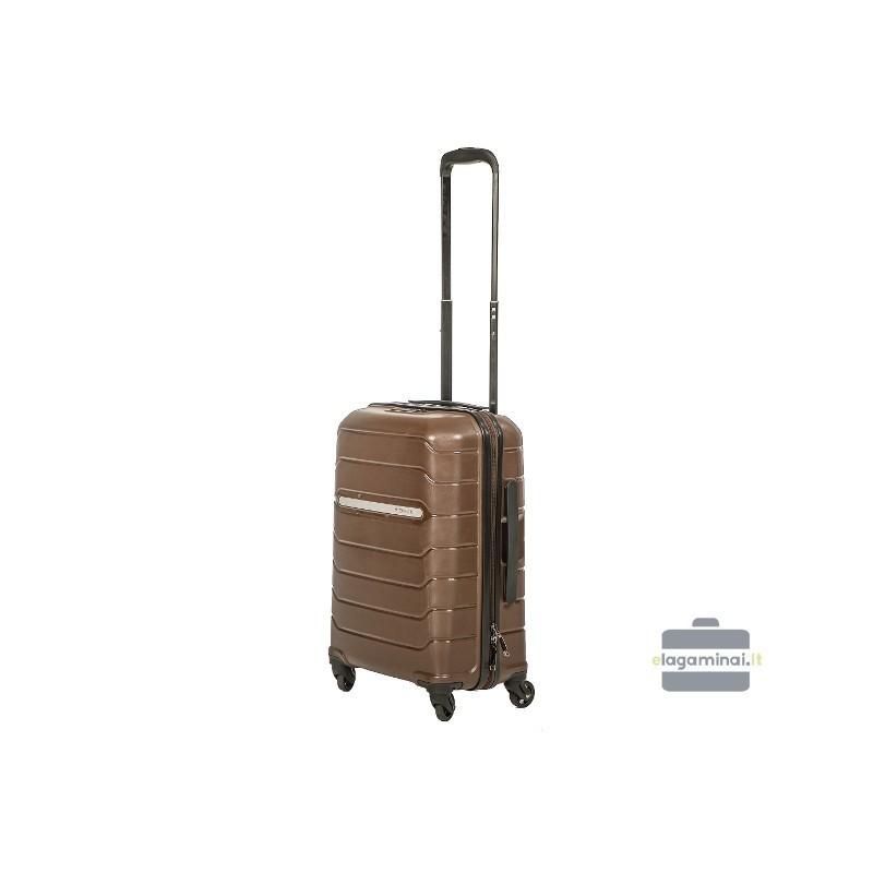 Rokas bagāža koferis Burak PQ-M brūna